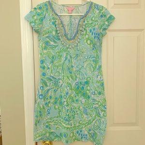 Lilly Pulitzer T-shirt Pom-Pom Dress
